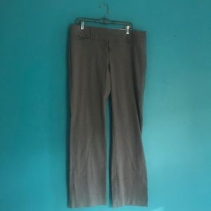 Maurices dress pants slacks grey elastic waist